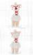 赤リボンセーラー服《かわいいコスプレ3点セット》【SEVENTY-THREE】【2522】