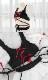 レースアップリボンコスランジェリー《かわいいコスプレ2点セット》【SEVENTY-THREE】【k0631】