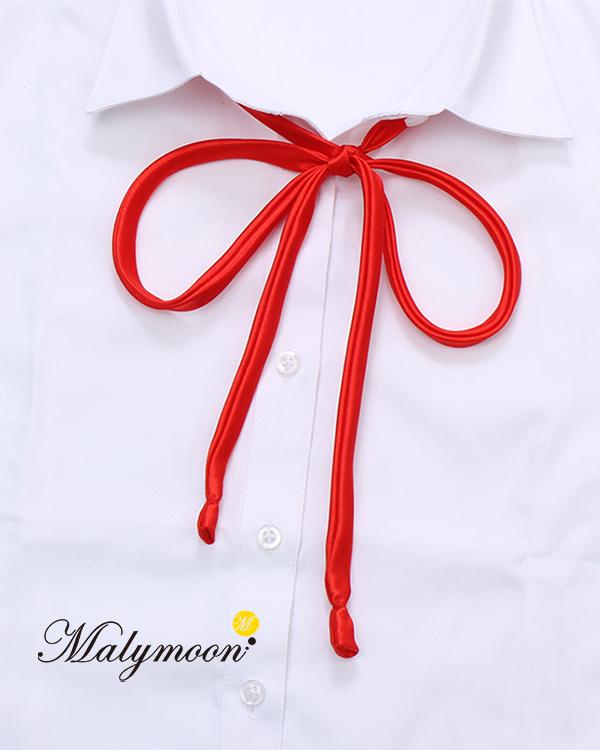 【ネコポス送料無料】【即日発送】JK制服リボン《可愛いコスプレ小物1点セット》【Malymoon/マリームーン】【6716-ribbon】