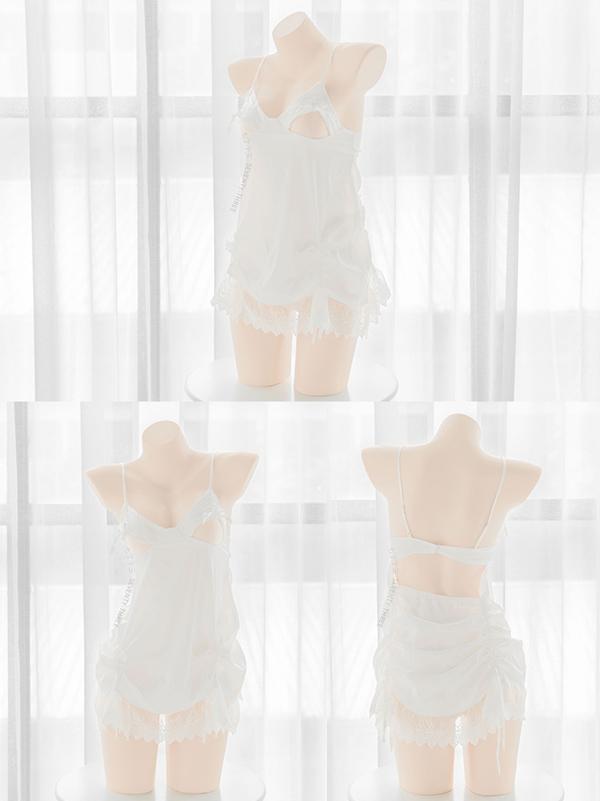 セクシーベビードール2カラー《かわいいコスプレ2点セット》【SEVENTY-THREE】【5948】