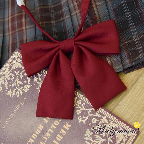 【ネコポス送料無料】【即日発送】JK制服リボン《可愛いコスプレ小物1点セット》【Malymoon/マリームーン】【6740-ribbon】