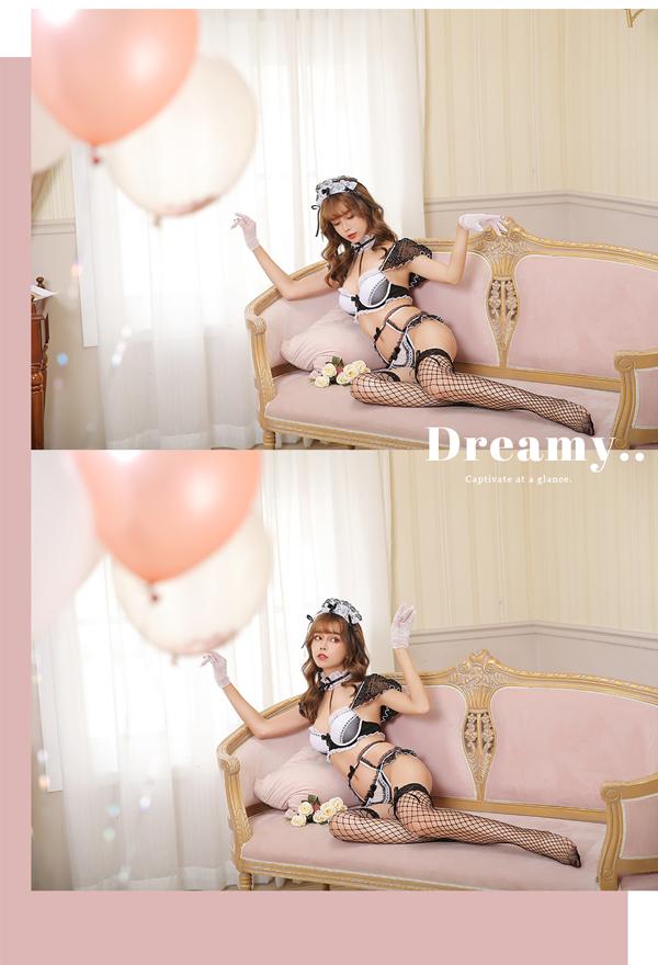 【予約-9月末頃より順次発送予定】ドットメイド《セクシーランジェリー6点セット》【Dreamy Doll/ドリーミードール】【7996】