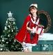 【予約-11月下旬より順次発送】マントサンタクロース《クリスマスコスプレ5点セット》【Malymoon/マリームーン】【9573-3】