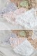 【ネコポス送料220円】ガーリーショーツ4カラー《かわいいコスプレランジェリー》【SEVENTY-THREE】【2816】