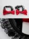 赤リボンレースランジェリー《かわいいコスプレ7点セット》【7moe/ナナモエ】【s0620】
