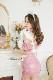 ピンクレザーメイド《かわいいコスプレ6点セット》【HUOHUAJIA】【16800-2】