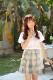 JK制服/チェック柄女子高生コスプレ《ハロウィンコスプレ3点セット》【Malymoon/マリームーン】【8223】
