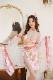 牛花魁ランジェリー ピンク《かわいいコスプレ9点セット》【HUOHUAJIA】【17800-pink】