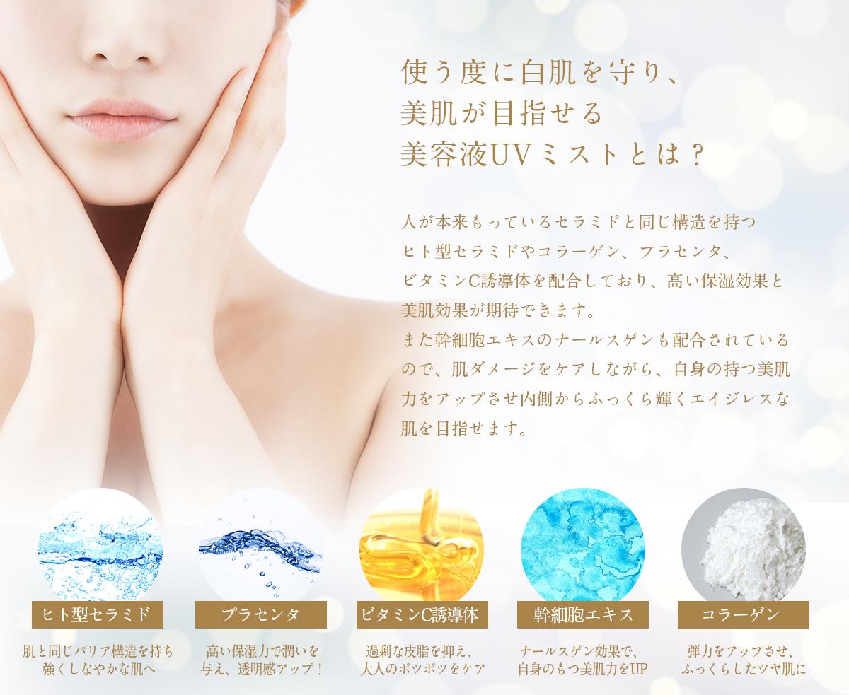 UVミスト シークレットジェム オーガニックエッセンス 【cosme-001】