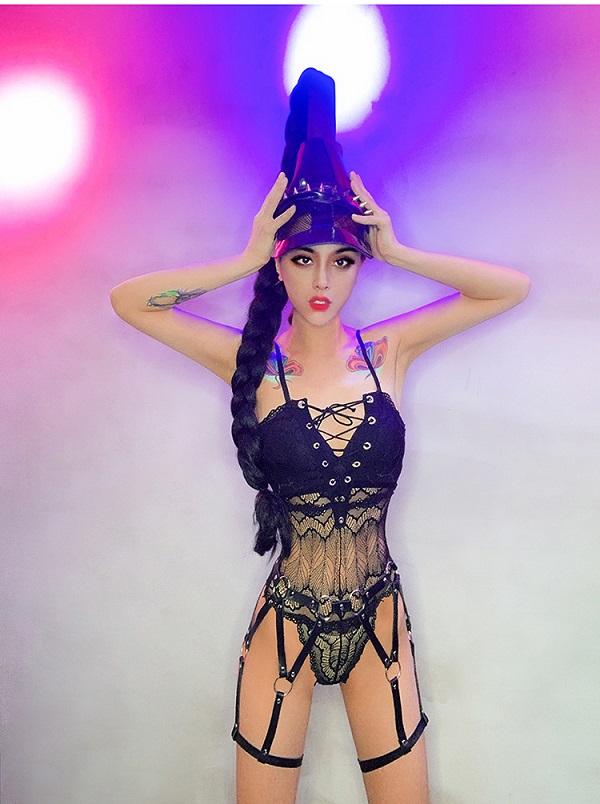 ダンス衣装 セクシー ダンス 衣装 ダンスウェア ダンスウエア 舞台衣装【dance-8110】