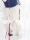 白雪姫風シフォンコスチューム《かわいいコスプレ5点セット》【SEVENTY-THREE】【2662】