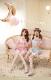 【即日発送】フェミニンキャット2カラー《セクシーランジェリー10点セット》【Dreamy Doll/ドリーミードール】【9976】