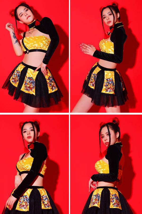 ダンス衣装 セクシー ダンス 衣装 ダンスウェア ダンスウエア 舞台衣装【dance-8498】