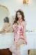 【即日発送】ピンク牛チャイナコスランジェリー《かわいいコスプレ5点セット》【HUOHUAJIA】【17801】