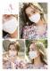 【ネコポス送料220円】【即日発送】オリジナルマスク/ガーリーコットンタイプ【Malymoon/マリームーン】【mask-girly2】