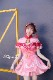 【六理コラボ】【即日発送】高級チャイナドレス2カラー《ハロウィンコスプレ3点セット》【Malymoon/マリームーン】【5342】