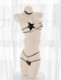 星型レザーコスランジェリー《かわいいコスプレ2点セット》【SEVENTY-THREE】【2778】