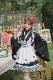 完全受注オーダー高級メイド服《かわいいコスプレ4点セット》【Malymoon/マリームーン】【m8165】