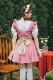 完全受注オーダー高級メイド服6カラー《かわいいコスプレ3点セット》【Malymoon/マリームーン】【m8151】