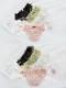 【ネコポス送料220円】ドット柄メッシュショーツ4カラー《かわいいコスプレランジェリー》【SEVENTY-THREE】【2680】
