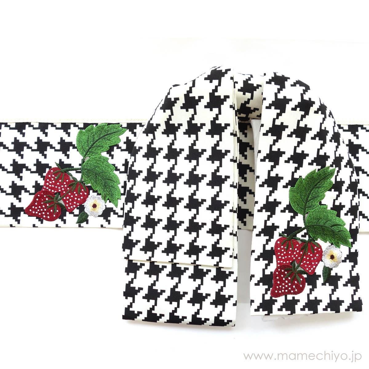 作り帯 mamechiyo modern Couture 「千鳥」