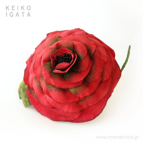大薔薇ヘッドドレス 【KEIKO IGATA/A-341 店頭在庫】