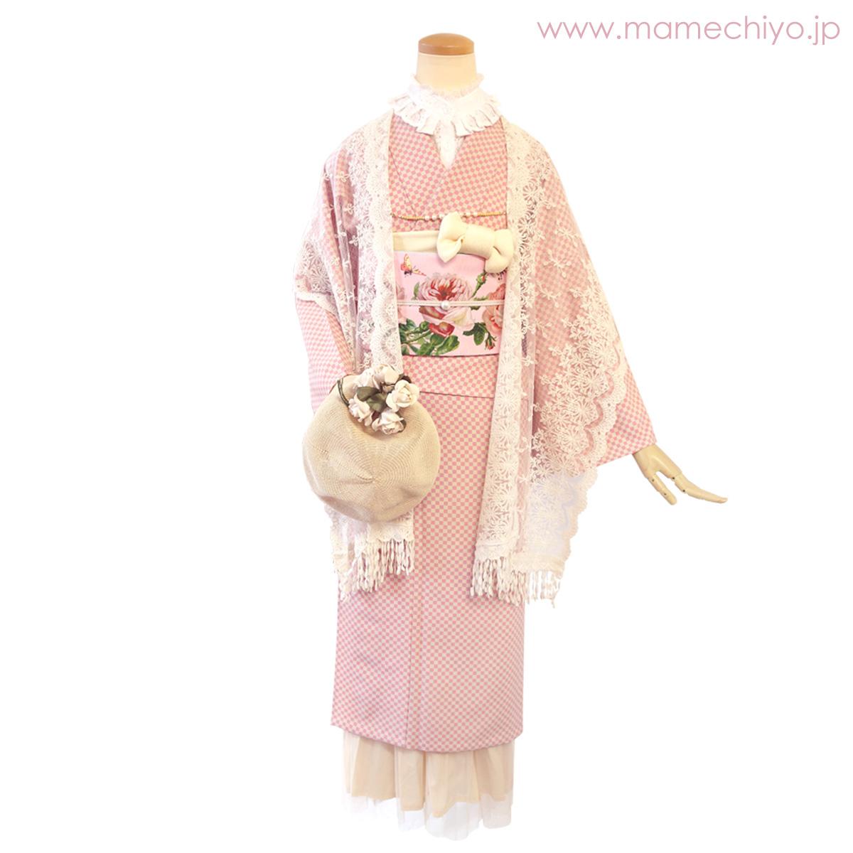 単衣着物 CUBE(sakura・Lサイズのみ)