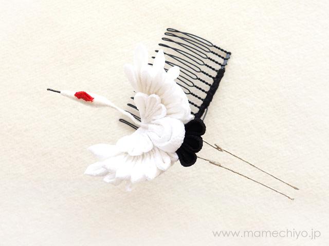 nesoneso(ネソネソ) 髪飾り 大鶴コーム