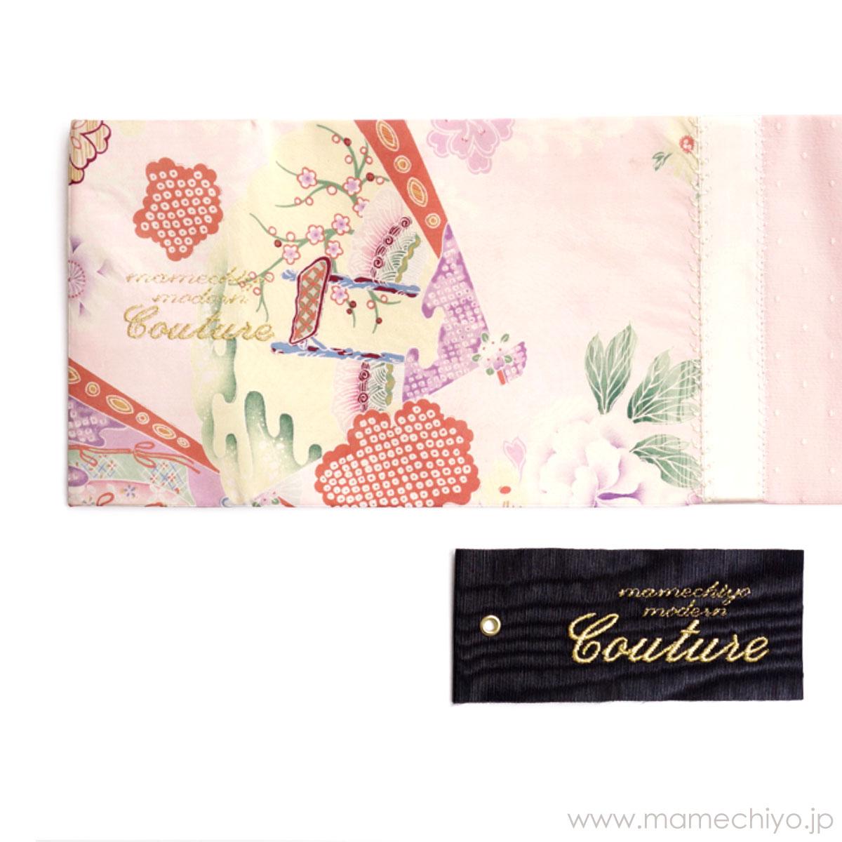 【6/10発売】名古屋帯「illumina(イルミナ)」(mamechiyo modern Couture)