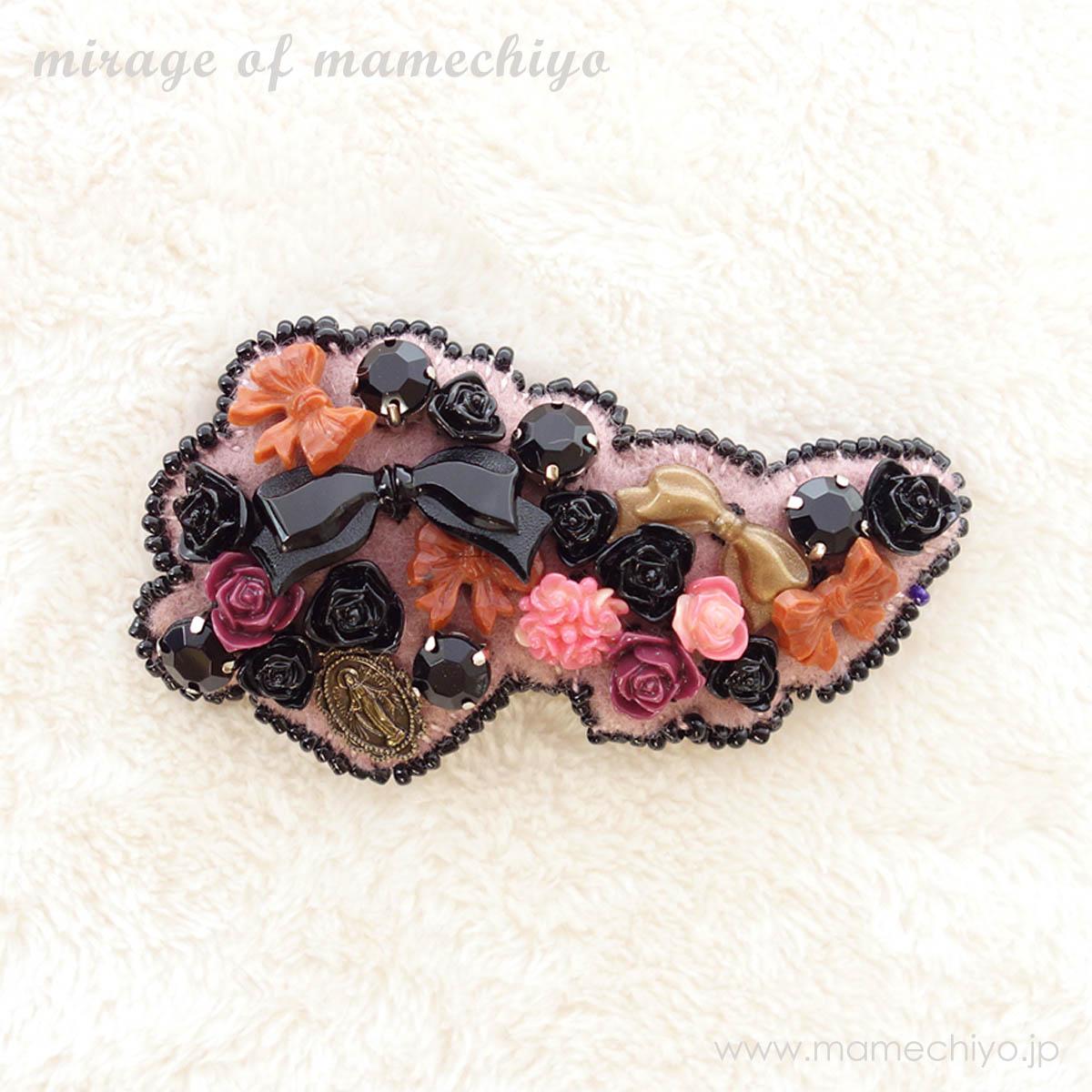 帯留 マリア・ローズ  (mirage of mamechiyo)