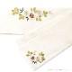 半巾帯 刺繍 萩と撫子
