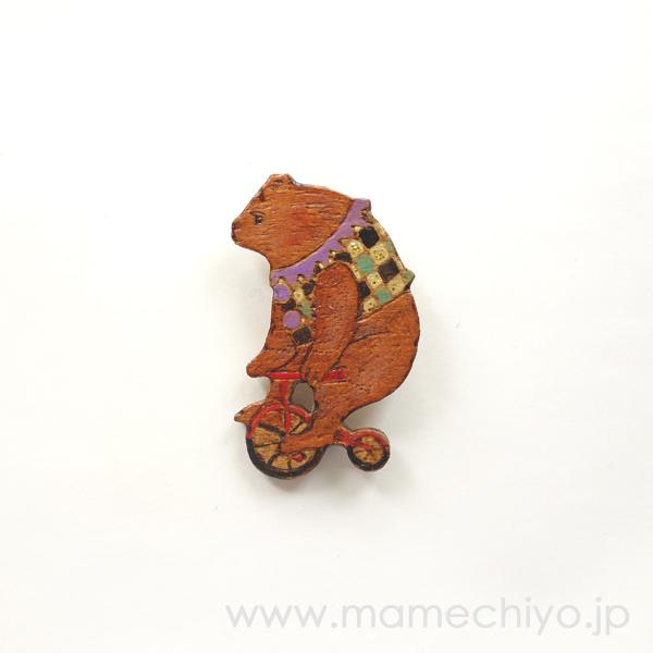 サーカス☆ブローチ 【POLICO/店頭在庫】
