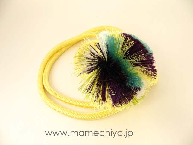 帯締 菊房 (タマゴ)