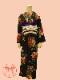 【レンタル】袷着物 街に咲く薔薇