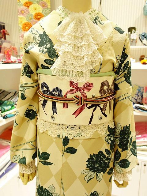 リボンレース 広巾光沢丸つなぎ(a.03)