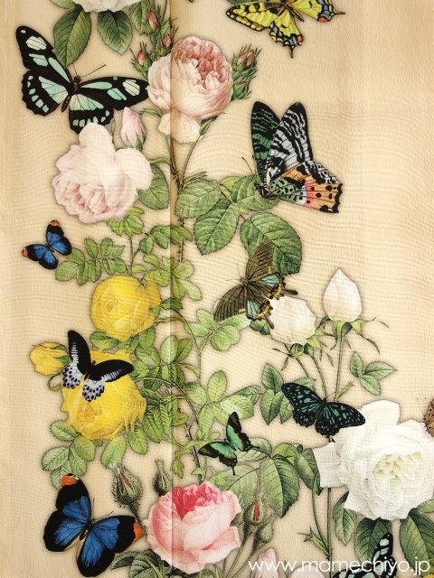 訪問着「薔薇と蝶のワルツ」タマゴ(Sサイズ、Lサイズのみ) 【店頭在庫含む・在庫限りで終了】