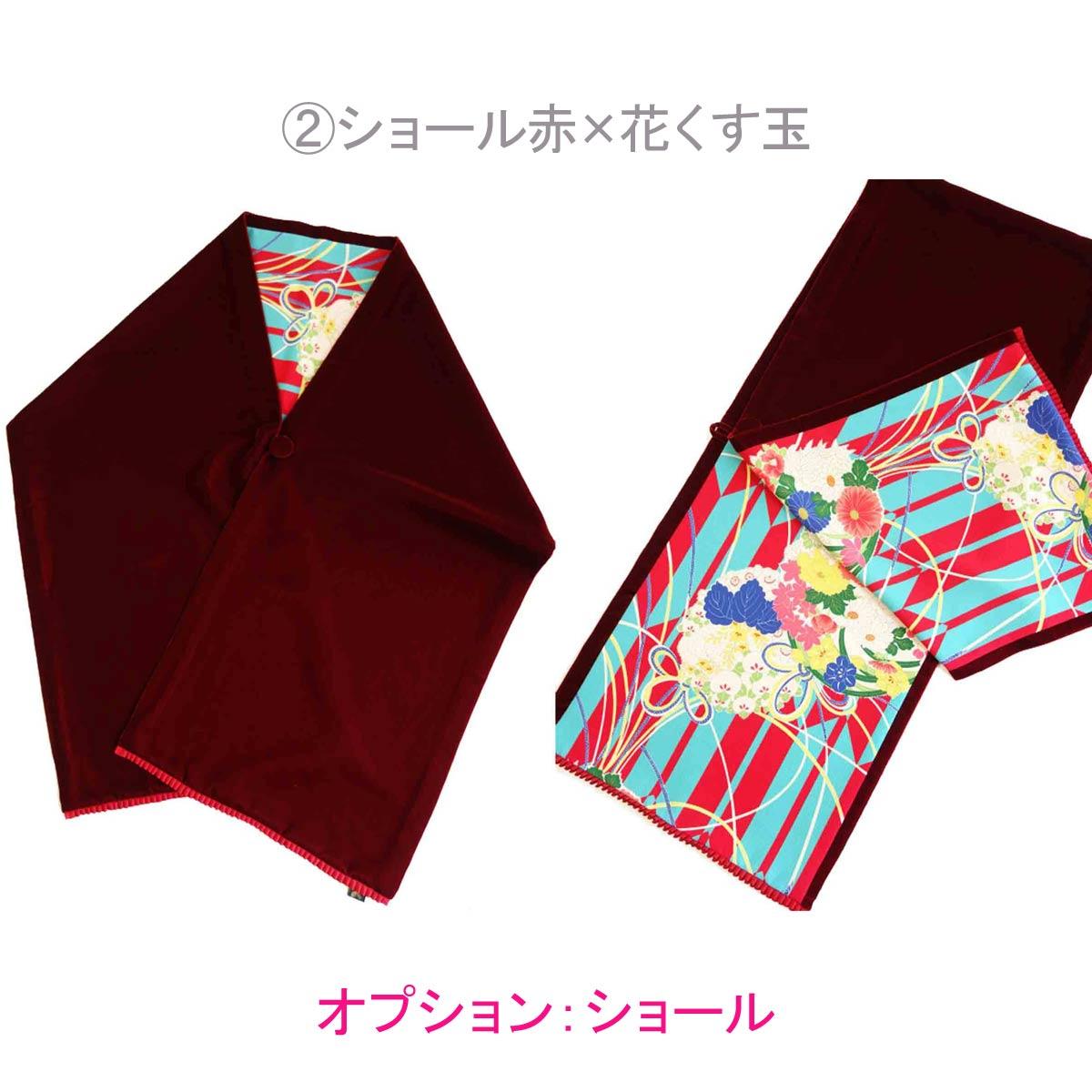 【レンタル】袴 Puzzle ターコイズ