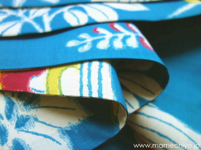 セオα半巾帯 サンクチュアリ ブルー【SALE品】
