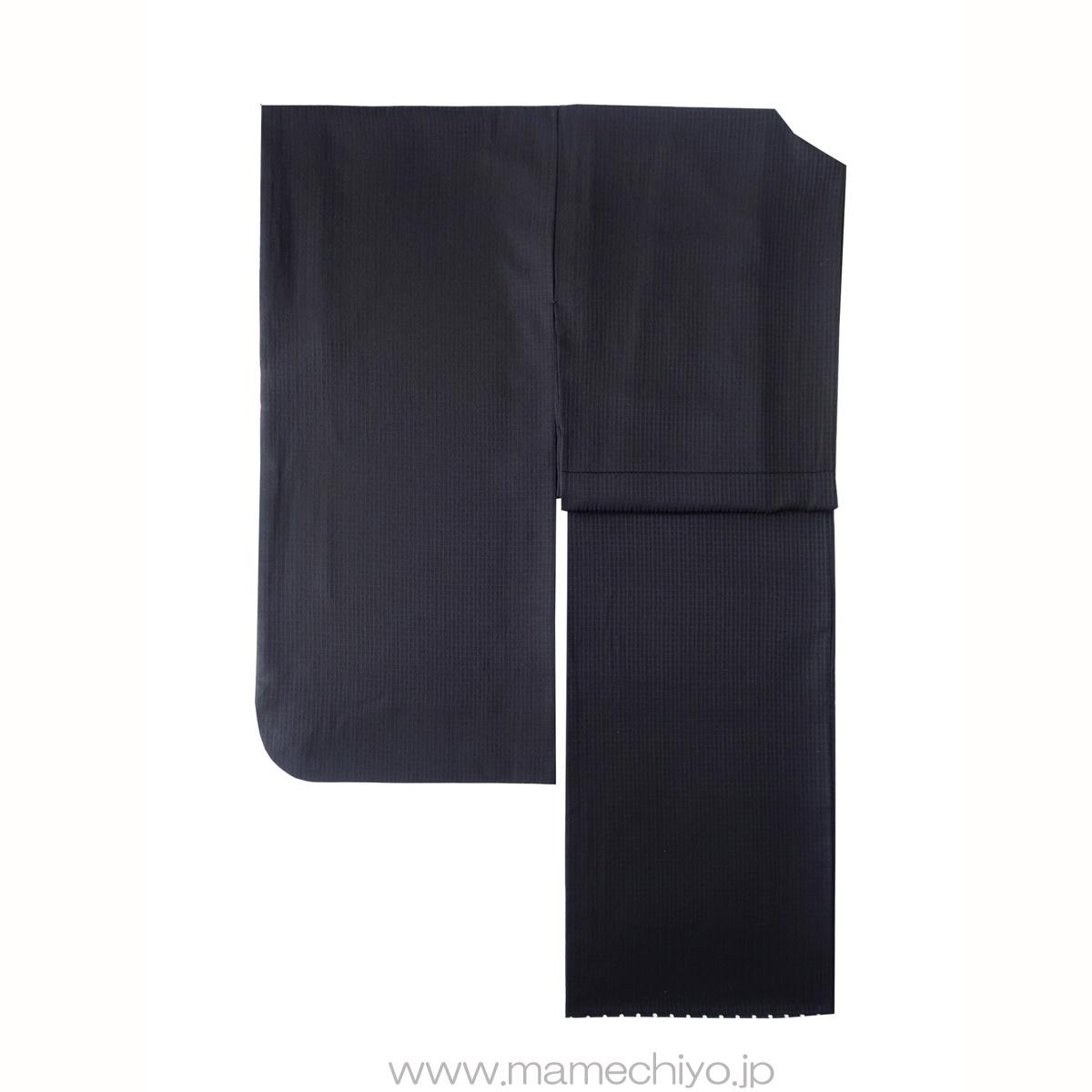【受注】単衣着物 Puzzle(ブラック)