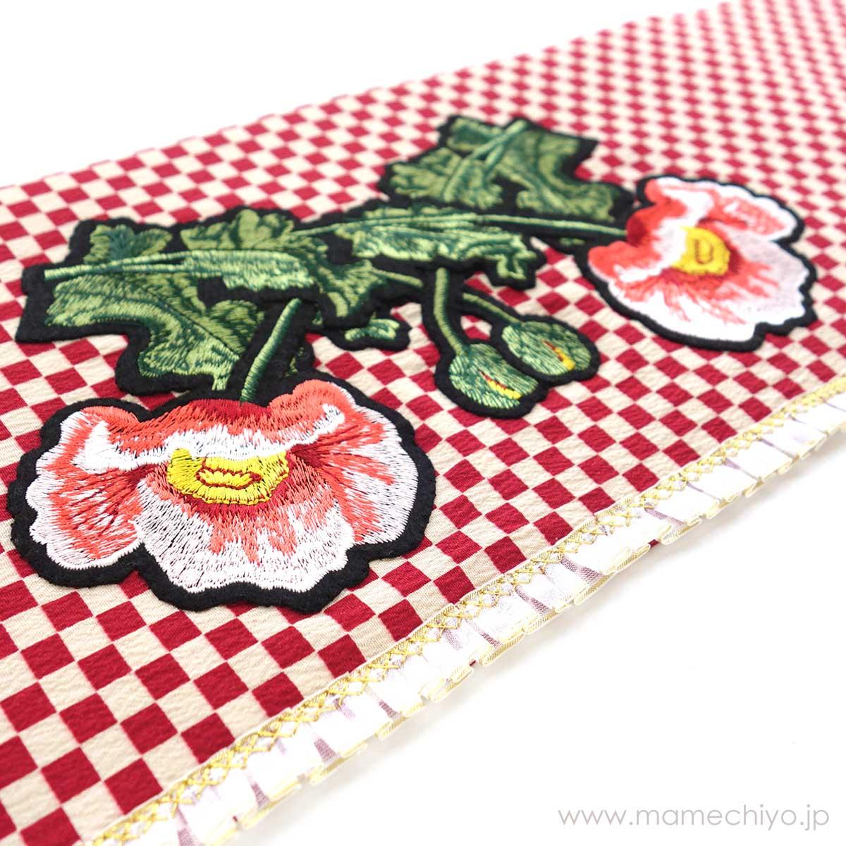 作り帯 mamechiyo modern Couture 「CUBE(ringo)」