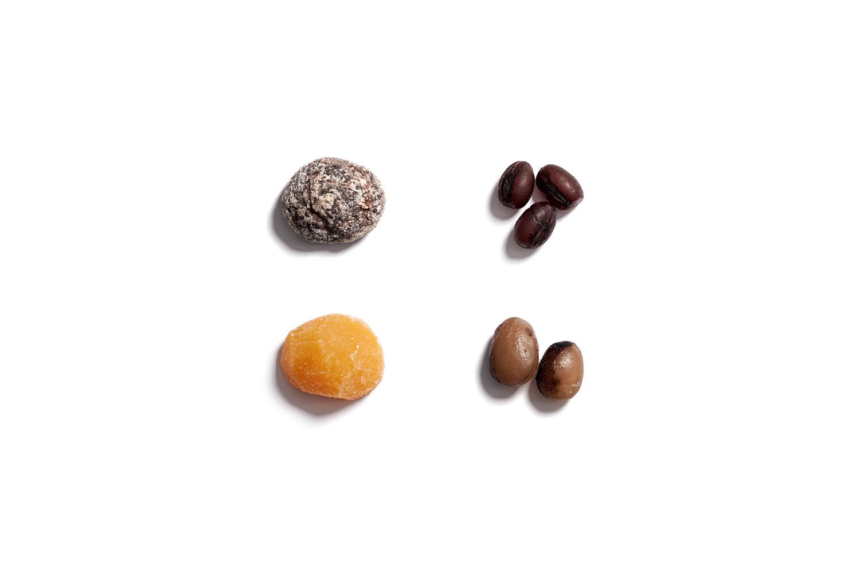 栗甘納豆四種