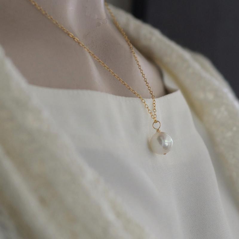 akoya真珠こぼれんばかりのペンダント9�【あこや真珠】