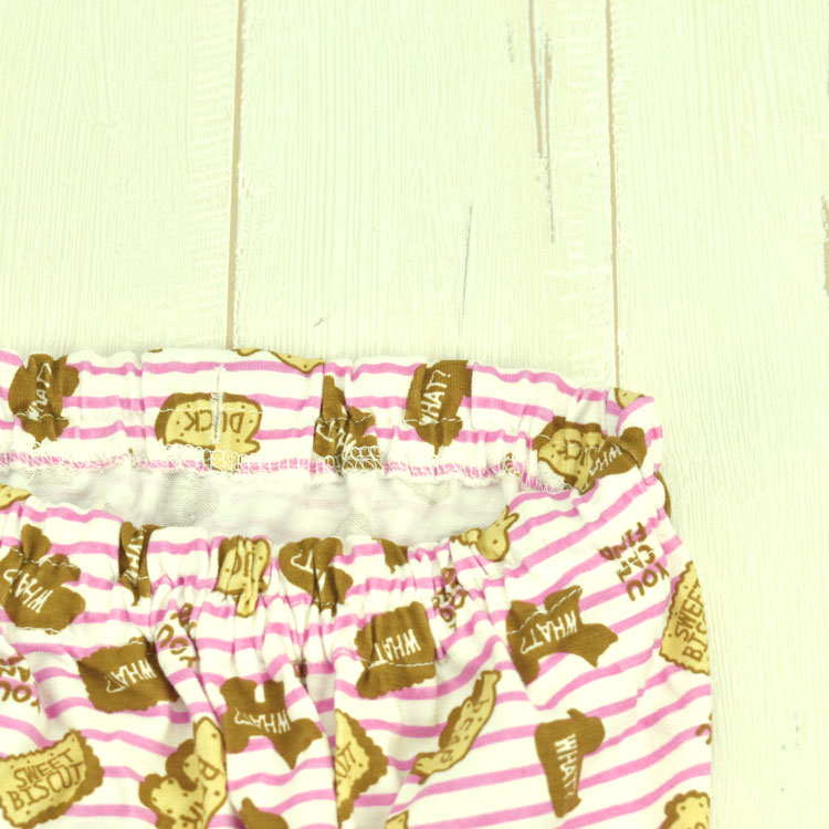知育柄腹巻付パジャマ