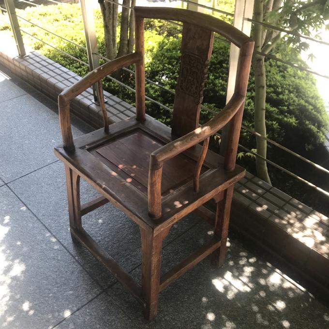 アンティークチェア・官帽椅