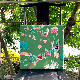 花鳥風月のシノワズリーパネル 《ブルーバード/グリーン》