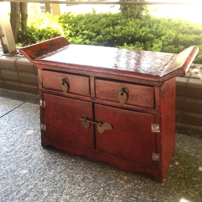 清代アンティークチェスト・ミニ
