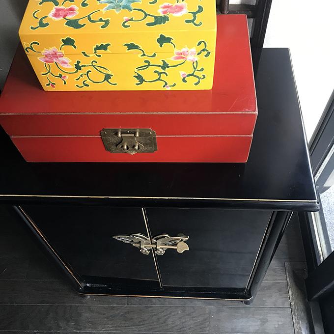 マンダリンオリジナルチェスト 〜蝶々金具〜
