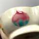 マンダリンオリジナル吉祥絵皿  〜吉祥づくしの桃型小鉢B