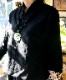 袖口刺繍のシノワ風トップ