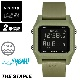 NIXON ニクソン 腕時計 STAPLE - Olive - A1309-333 ステープル オリーブ デジタル時計 クロノグラフ 100M/10気圧防水 メンズ サーフィン アウトドア 誕生日 クリスマス プレゼント